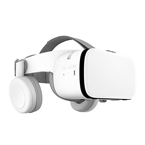 Pillows-RJF Lunettes VR Version sans fil Lunettes VR 3D Virtuelle La réalité Casque audio tout-en-un blanc