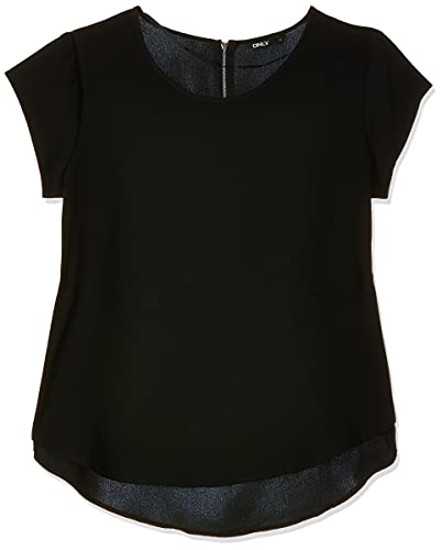 ONLY Damen T-Shirt Onlvic S/S Solid Top...