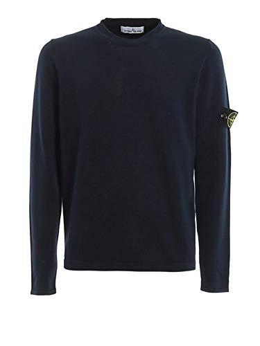 Luxury Fashion | Stone Island Heren 7215532B9V0028 Donkerblauw Katoen Truien | Lente-zomer 20