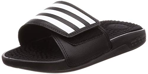 adidas Unisex-Adult Adissage TND Sandal, Core Black/Cloud White/Core Black, 46 EU