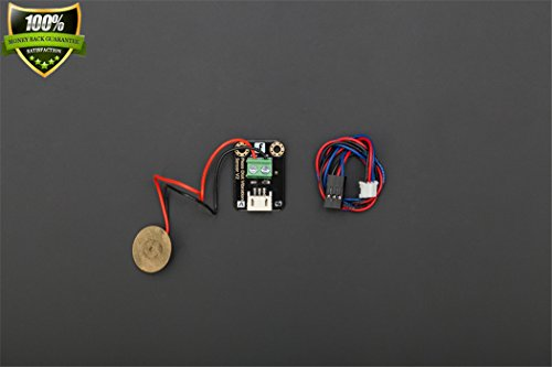 Gravity: Digital Piezo Disk Vibration Sensor The Sensor Can Perceive The Strength Of The Vibration And Pressure And Convert It To The Analog Voltage Value. Interface Type: Simulation