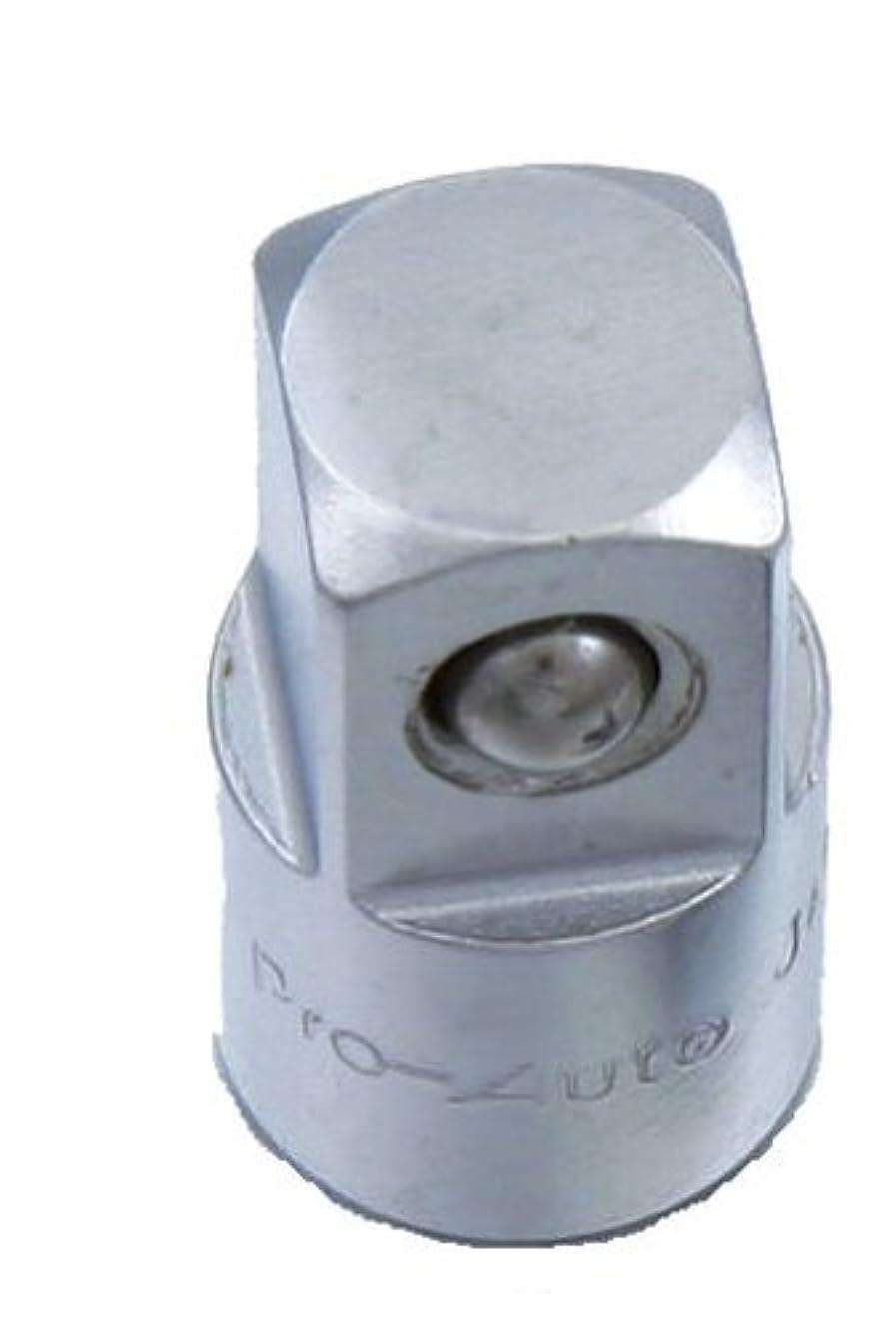 スエカゲツール アダプターソケット Pro-Auto 3261004 19.0(-)×25.4(+)×全長:60mm