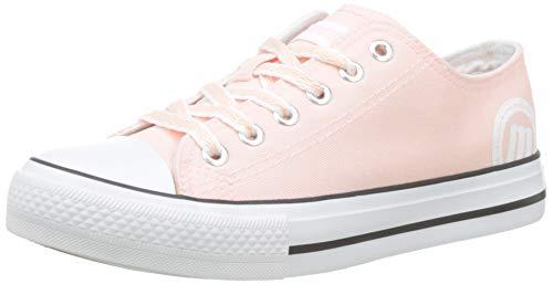 MTNG 13991 - Zapatillas para Mujer, Rosa (Canvas), 39 EU