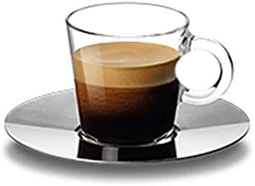 Nespresso View - Taza pequeña de cristal con platillo