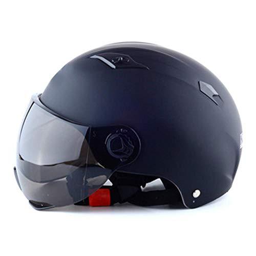 Millster Motorradhelm - Integralhelm,Einziehbare Getönte Sonnenblende, Leicht Und Kompakt Für Jede Kopfgröße