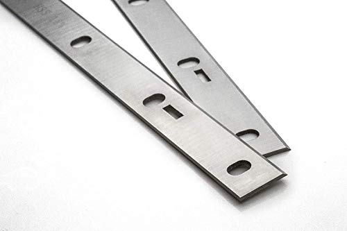 "Zipper Abricht- und Dickenhobelmaschine Ersatzhobelmesserset Hobelmesser\""Made in Germany\"" (ZI-HB254 (TYP 1) 258x22x1,8mm)"