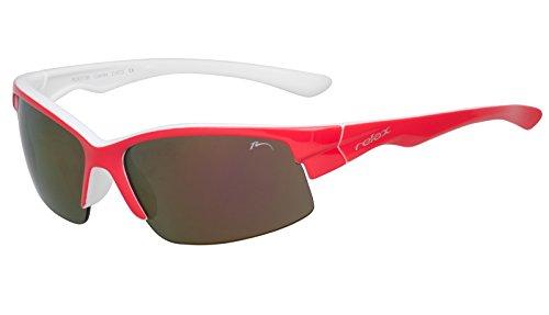 RELAX Kinder Sportbrille Sonnenbrille 8-10 Jahre UV400 Schutz R3073B