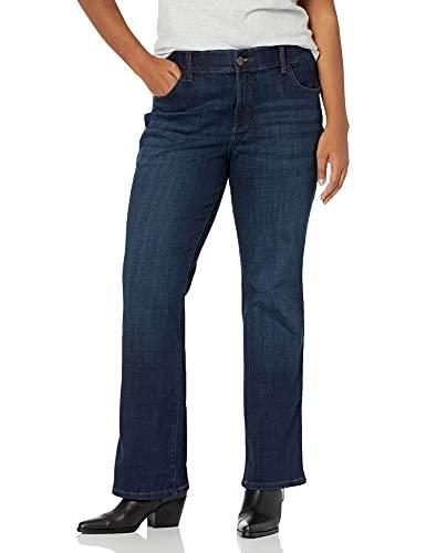 Lee Women's Plus-Size Flex Motion Regular Fit Bootcut Jean, Renegade, 22W Medium