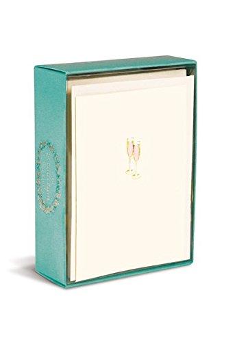 Boxed Notes: Pink Champagne – Gruß- und Geschenkkartenbox mit Kuverts: Pinker Champagner: 10 Gruß- und Geschenkkarten mit passenden Umschlägen