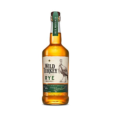 Wild Turkey Rye 81 Proof Kentucky Straight Whiskey (1 x 0.7 l)