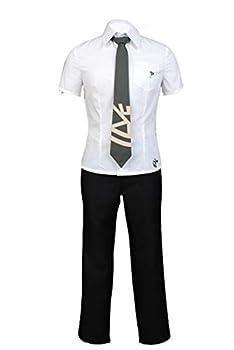 Ya-cos Hajime Hinata Cosplay Outfit Shirt Tie High School Student Uniform Halloween Cosplay Costume