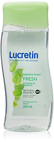 Sabonete Líquido Íntimo Lucretin Fresh 200Ml, Lucretin
