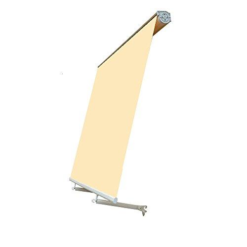 Sangiorgio Tenda da Sole CASSONATA 3x3mt - Ecru'/Beige Sistema A Caduta per Balcone