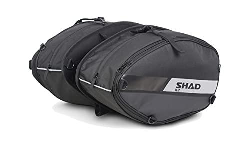 Shad X0SL52 Sl52 Alforjas, Negro, Normal