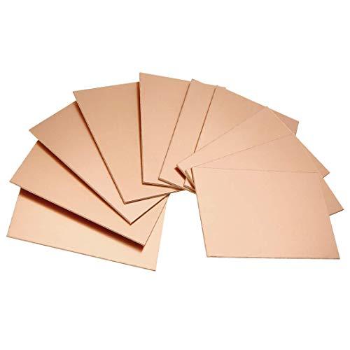 Einseitig Kupfer PCB Leiterplatte Plattiert Plate Platine 70x100x1,5mm (10 Stück)