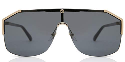 Fashion Shopping Gucci gg0291s 100% Authentic MenÃ'â€s Sunglasses Gold 001, 99-0-140