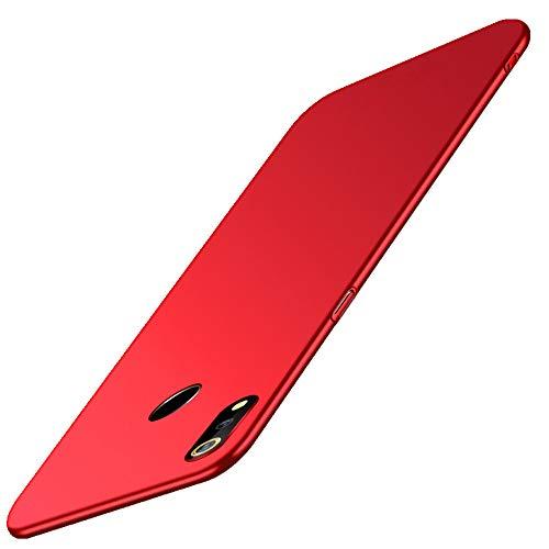 SPAK ZTE Nubia Z18 Hülle,Neuer Qualitäts Schutzhülle Harter PC rückseitiger Abdeckungs Handyhülle Fall Cover für ZTE Nubia Z18 (Rot)