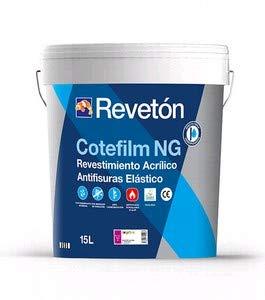 REVETON - COTEFILM NG ELASTICO LISO MATE 4 LT - Blanco 001