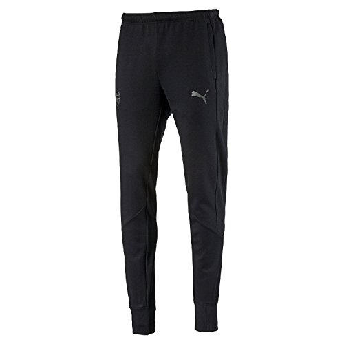 Puma voetbal AFC Arsenal Football Club Casuals Performance joggingbroek kinderen zwart maat 176