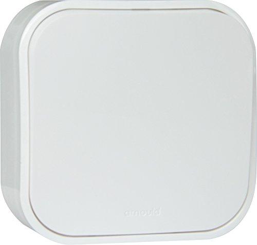 Arnould 54200 Interrupteur ou Va-et-Vient Saillie Profil Eco, Blanc
