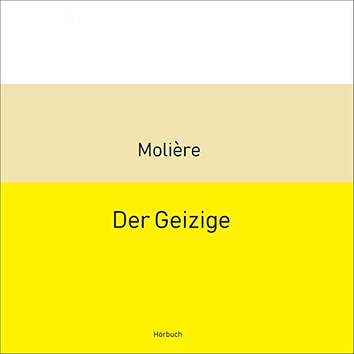 Der Geizige cover art