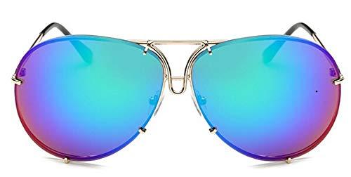 WDDYYBF Zonnebril 2018 Ontwerp Luchtvaart Zonnebril Mannen Mode Tinten Spiegel Vrouwelijke Zonnebril Voor Vrouwen Wenkkleding Kim Kardashian Oculo