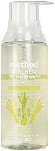 Method Kitchen Gel Hand Soap, Lemongrass, 12 Oz