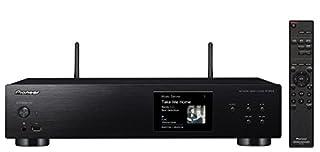 """Pioneer N-30AE-B. Colore del prodotto: Nero. Formati audio supportati: AIFF,ALAC,FLAC,WAV. Formato audio integrato: DSD, Convertitore Audio D/A: 24-bit/192kHz. Tipologia display: LCD, Dimensioni schermo: 8,89 cm (3.5""""). Consumi: 19 W, Consumi (modali..."""