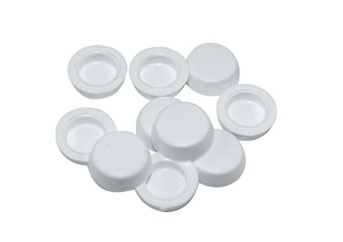 SN Abdeckkappe für Fensterbankschraube/Duschen weiß (50 Stück)