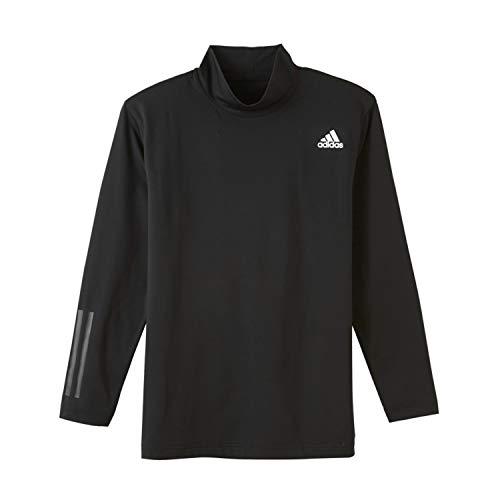 [アディダス] インナーシャツ 両面起毛 ロング ハイネック APU208A メンズ ブラック 日本L (日本サイズL相当)