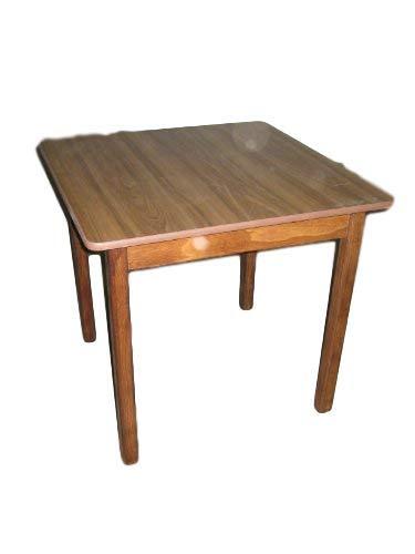 Kunibert Multistore 2002 Table à quatre pieds de qualité brasserie 80 x 80 cm