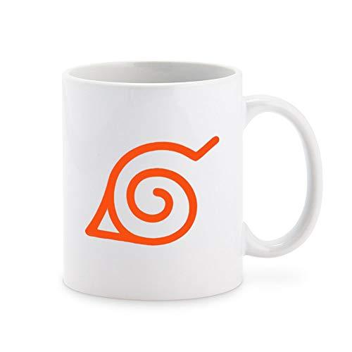 Naruto Konoha Leaf Symbol Coffee Mug Tea Cup Novelty Gift Mugs 11 oz
