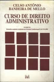 Curso De Direito Administrativo - 15 Edição 2003