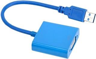 良いおすすめUSB3.0-VGA変換アダプターマルチディスプレイ最大6台接続可能と2021のレビュー