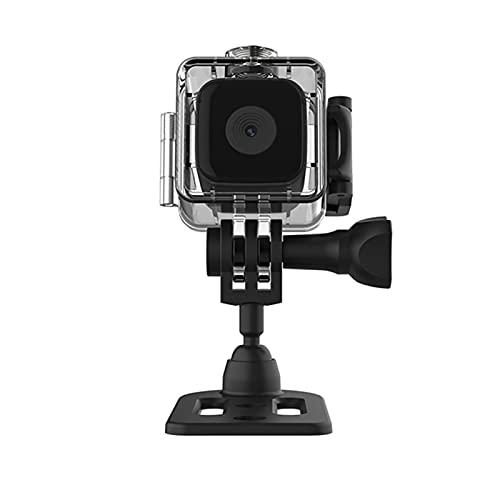 Mini cámara,Funien Mini cámara Cámara portátil a Prueba de Agua Seguridad para el hogar Cámara 1080P HD Cámara Deportiva para el hogar Videocámara DVR con visión Nocturna para Interiores y Exteriores