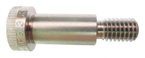 18-8 Stainless Steel Shoulder Screw, Plain Finish, Socket Head Cap, Hex Socket Drive, Standard Tolerance, Meets ASME B18.3, 5/16