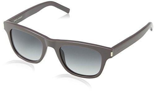 Yves Saint Laurent Sonnenbrille Classic 2 Gafas de sol, Gris (Grau), 49 Unisex Adulto