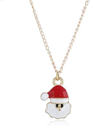 NC83 Pulsera de Papá Noel, colgante de aleación, decoraciones navideñas para el hogar, feliz año nuevo 2020, adornos para árboles de Navidad, regalo de Navidad