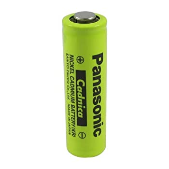8 Pack - New Panasonic AA NiCd 1.2V 700 mAh N-700AAC Button TOP Rechargeable Battery - for Solar Cordless ETC