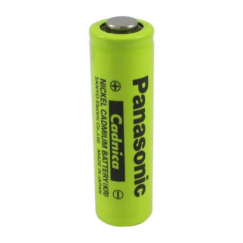 8 Pack - New Panasonic AA NiCd 1.2V 700 mAh N-700AAC Button TOP Rechargeable Battery - for Solar, Cordless, ETC