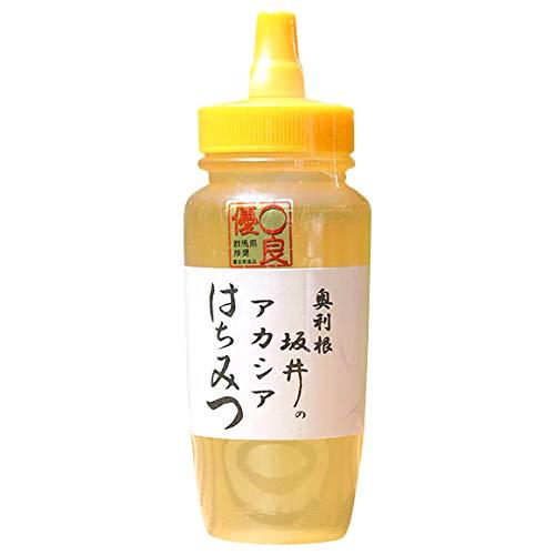 坂井養蜂場 特選アカシア蜂蜜 国産 奥利根 坂井のはちみつ (250g)