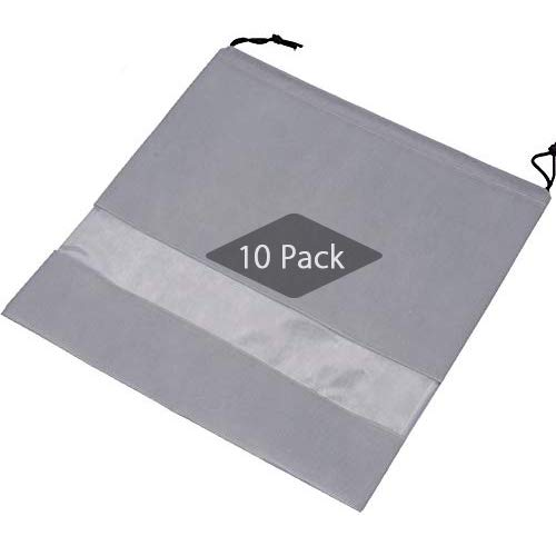 Breathable Non-woven Material: This material can keep your valuable handbags, purses, pocketbooks, shoes, boots in good condition. Transparent Window Design: With see through transparent window, bag contents to be identified easily. Convenient for yo...