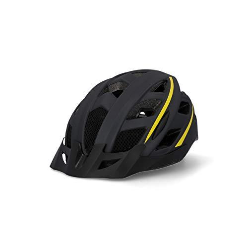 Fischer Unisex– Erwachsene Fahrradhelm, Montis schwarz, S/M 52-59