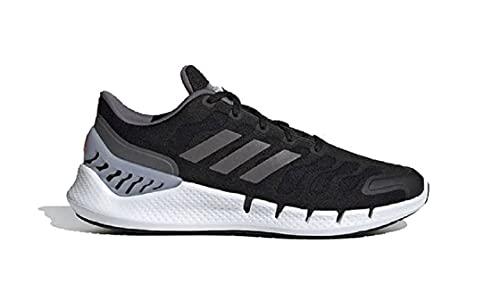 adidas Climacool VENTANIA, Zapatillas de Running Unisex Adulto, NEGBÁS/Gricin/Rojsol, 45 1/3 EU