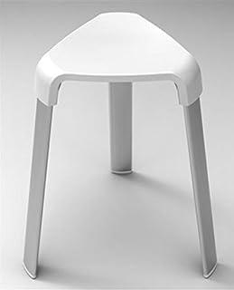 Hocker Sitzhocker Badhocker Fußhocker Schemel Badehocker  ✅Weiß ✅32 x 38 x 47 cm