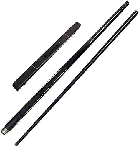 EIERFSKIOT Pool cue Stick Billiard cue Sticks Billiard Pool Cue Stick 58 Inches 19-20 Oz Maple Billiard Pool with 13Mm Tips Anti-Slip Sweat 1/2 Jointed Pool Personalised Pool(Color:Pole Box)