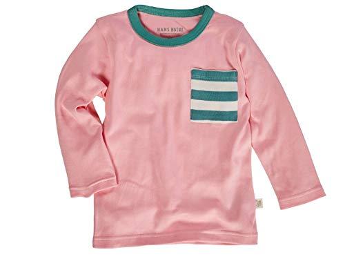 86//92 Pink Off-White GOTS zertifiziert kbA Bio Kinder Rock Bio-Baumwolle 100/% Bio-Baumwolle