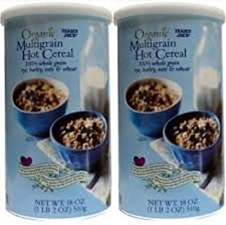 2 x Trader Joes Organic Multigrain Hot Cereal 18-oz