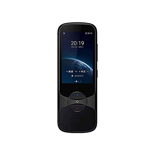LKNJLL Language Translator Device 13 Languages, Two Way Portable Instant Voice Translator, Voice/Text/Photo Translation, 3-inch HD Touch Screen