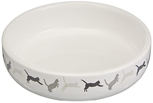 Trixie 42341 Keramikschale für Katzengras, ø 15 × 4 cm, 50 g